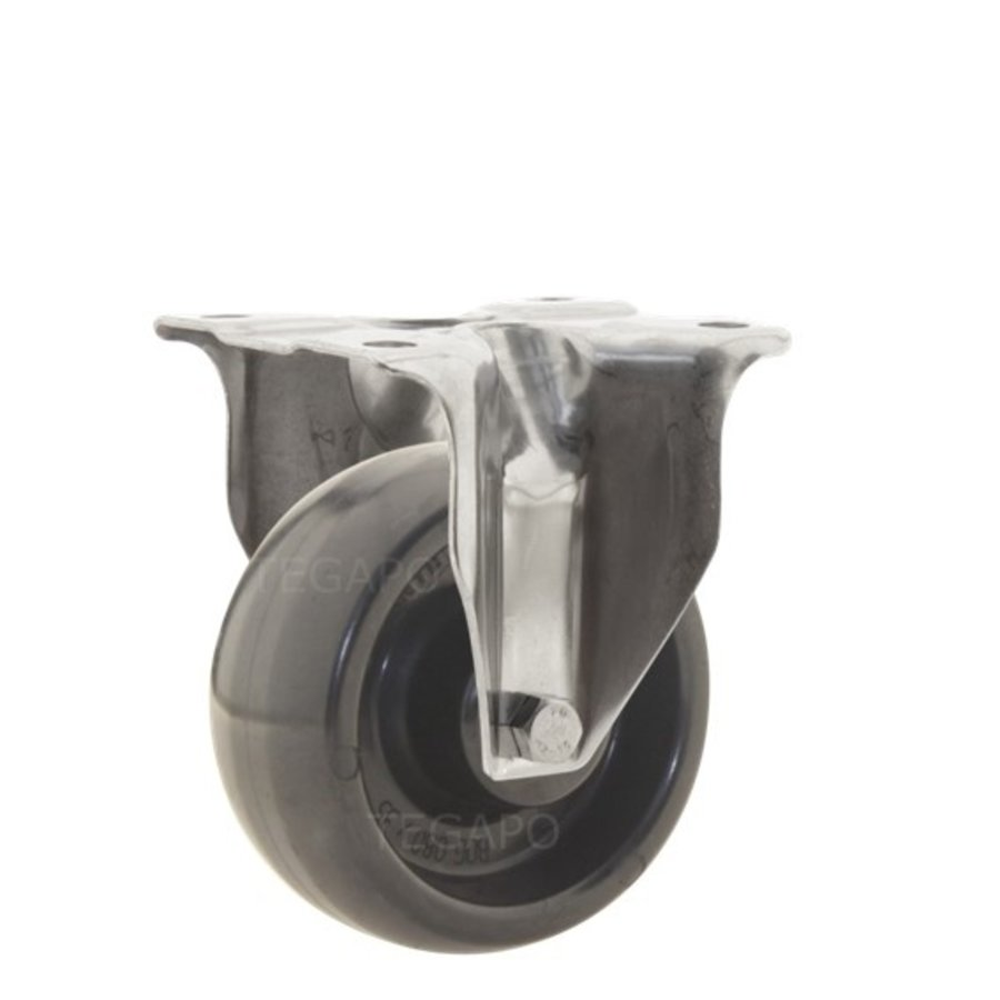 Bokwiel RVS 80 synthetisch hittebestendig plaatbevestiging