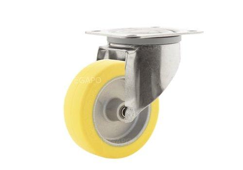 Zwenkwiel RVS 100 Siliconen rubber hittebestendig plaatbevestiging