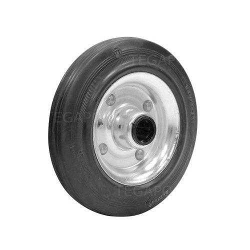 Rubber wiel 160mm 3SO rollager asgat 20mm
