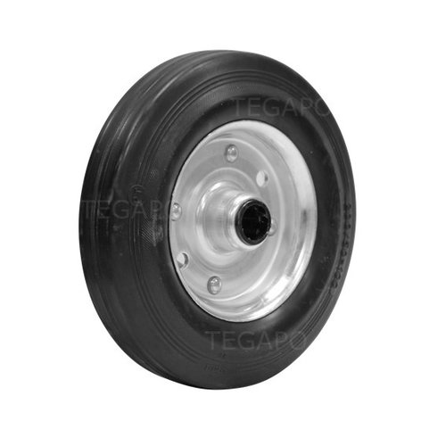 Rubber wiel 200mm 3SO rollager asgat 20mm