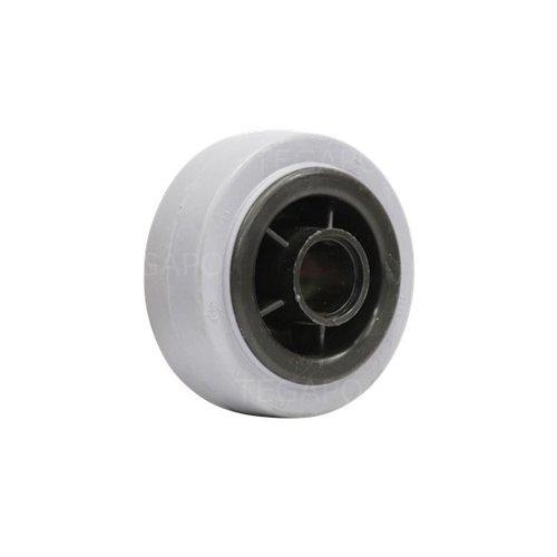 Rubber indoor wiel 80mm 3KO asgat 20mm
