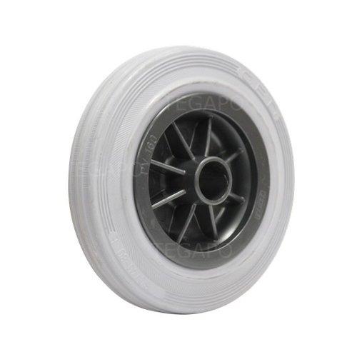 Rubber indoor wiel 160mm 3KO asgat 23mm