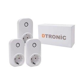DTRONIC LC203 - 3st. Starterkit | DTRONIC - Slimme stekker
