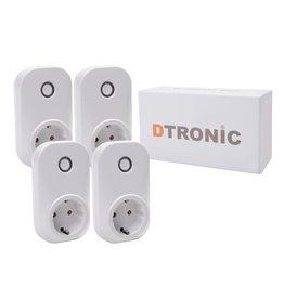 DTRONIC LC203 - 4st. Starterkit | DTRONIC - Slimme stekker