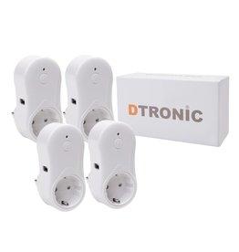 DTRONIC Slimme stekker - Aardepin S126 | DTRONIC - Startset 4st.
