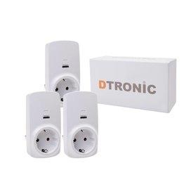 DTRONIC Slimme stekker WLSC01 - 3st. | DTRONIC - Starterkit