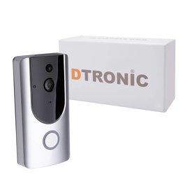 DTRONIC HD Video deurbel - Nachtzicht  M2D | DTRONIC - WiFi