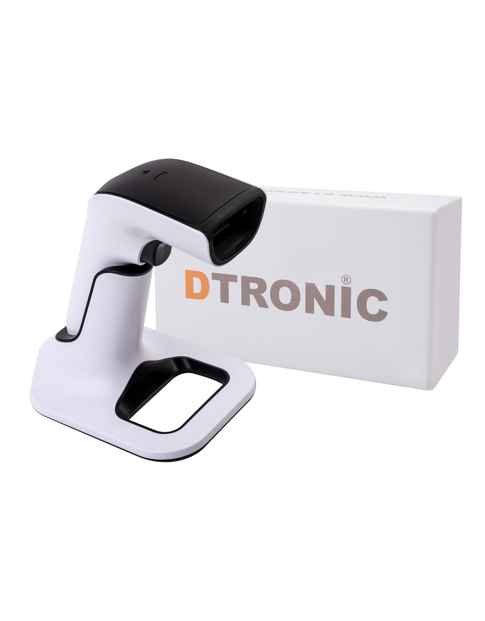 DTRONIC Barcodescanner met standaard   DTRONIC - DS6510   scant ook QR en van beeldscherm