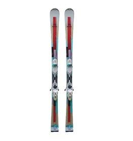 ROSSIGNOL Rossignol Unique 2 (rd/wit/truk) Ski's Gebruiktt