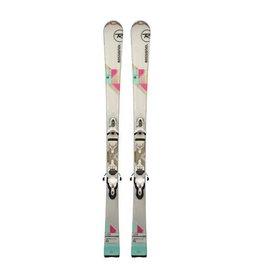 ROSSIGNOL Rossignol Unique 2S (roze/turk) Ski's Gebruikt
