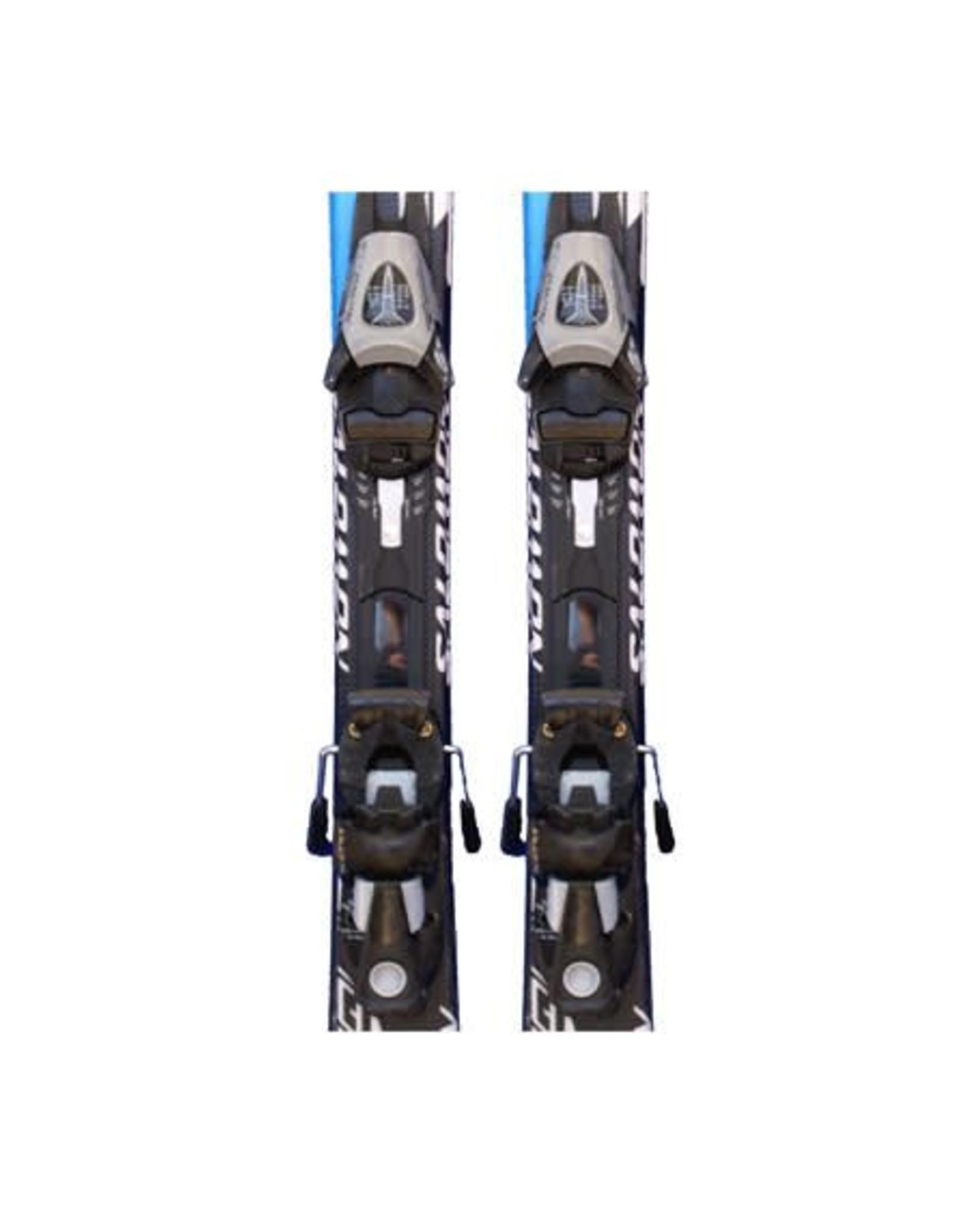 SALOMON Salomon Equipe -t Ski's rd/gl/zw/blw Gebruikt 100cm