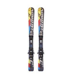 SALOMON Equipe -t Ski's rd/gl/zw/blw Gebruikt 100cm