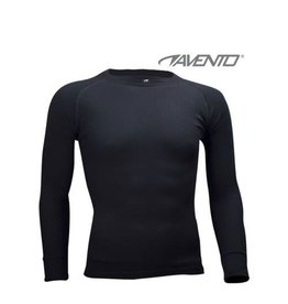 AVENTO THERMO SHIRT  ZWART HEREN