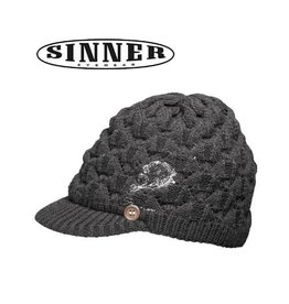 SINNER MUTS Pebble Black Women