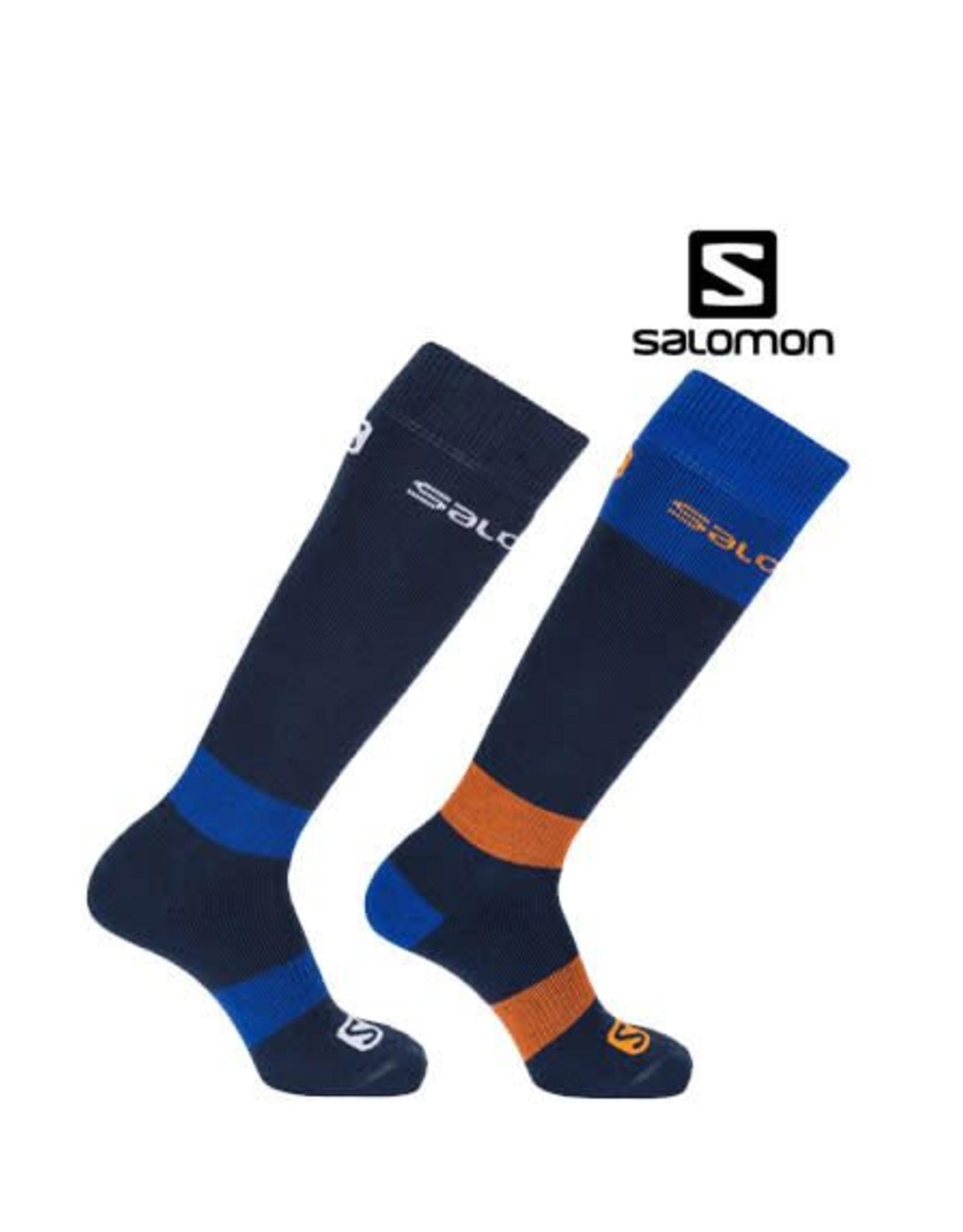 SALOMON SALOMON SKISOKKEN ALL-Round 2-pack