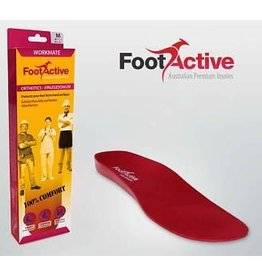 FOOT ACTIVE Inlegzolen Workmate