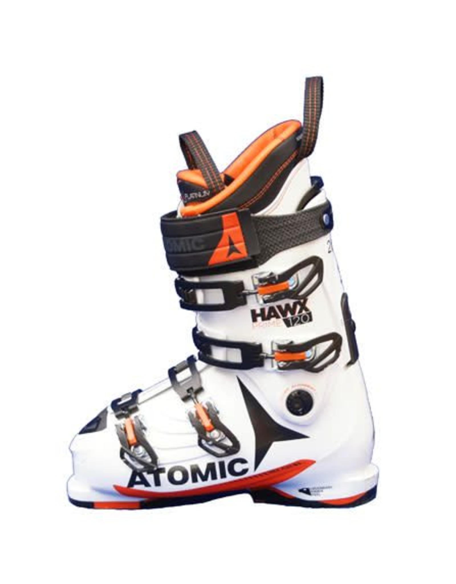 ATOMIC Skischoenen ATOMIC Hawx Prime 120 Wit/Oranje Gebruikt Maat 46