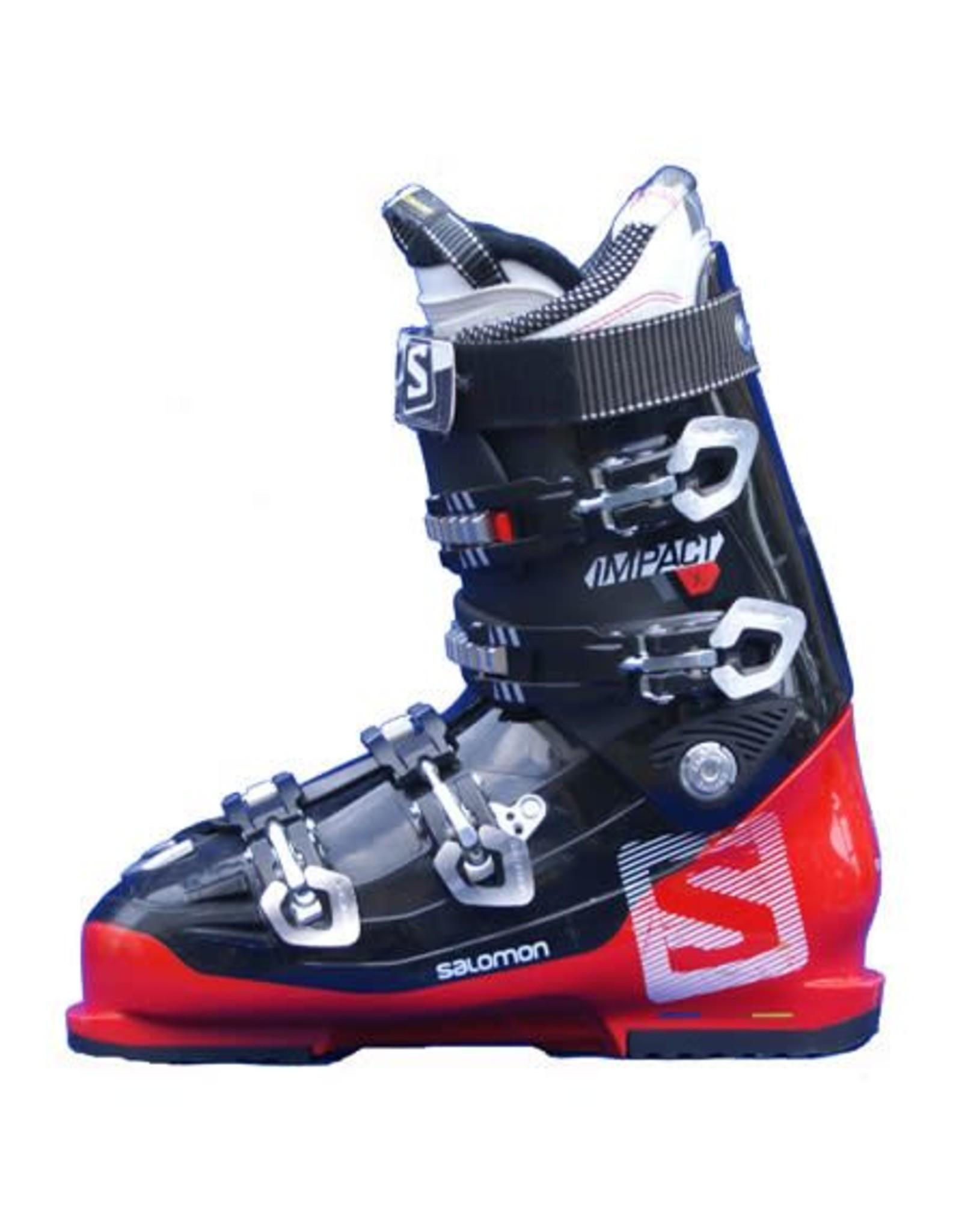 SALOMON Skischoenen SALOMON Impact X  Rood/Zwart Gebruikt