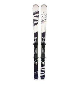 SALOMON 24 HRS X-Max  (Ti=wit) Ski's Gebruikt