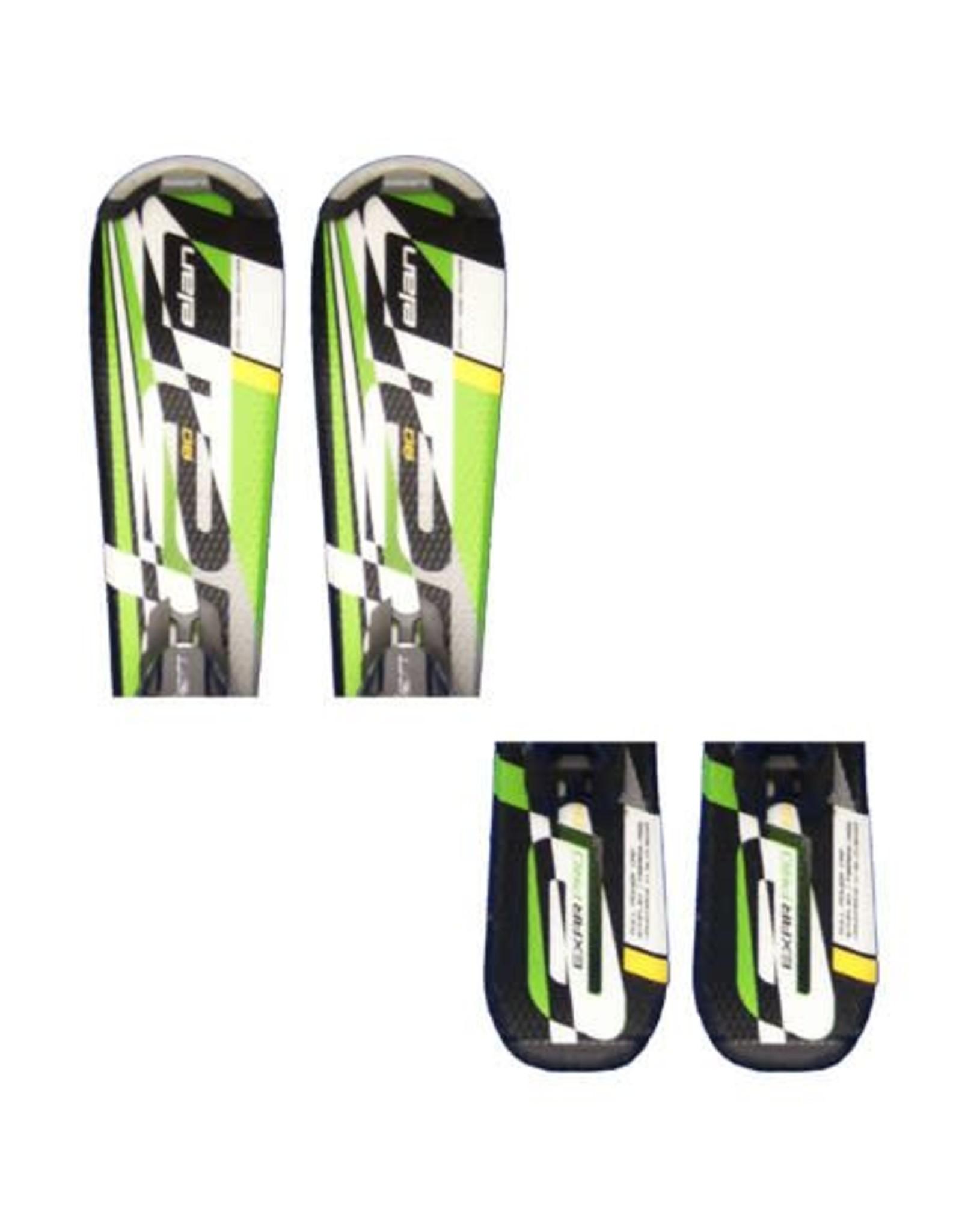 ELAN Elan Exar Pro (grn/zw/wit) Ski's Gebruikt