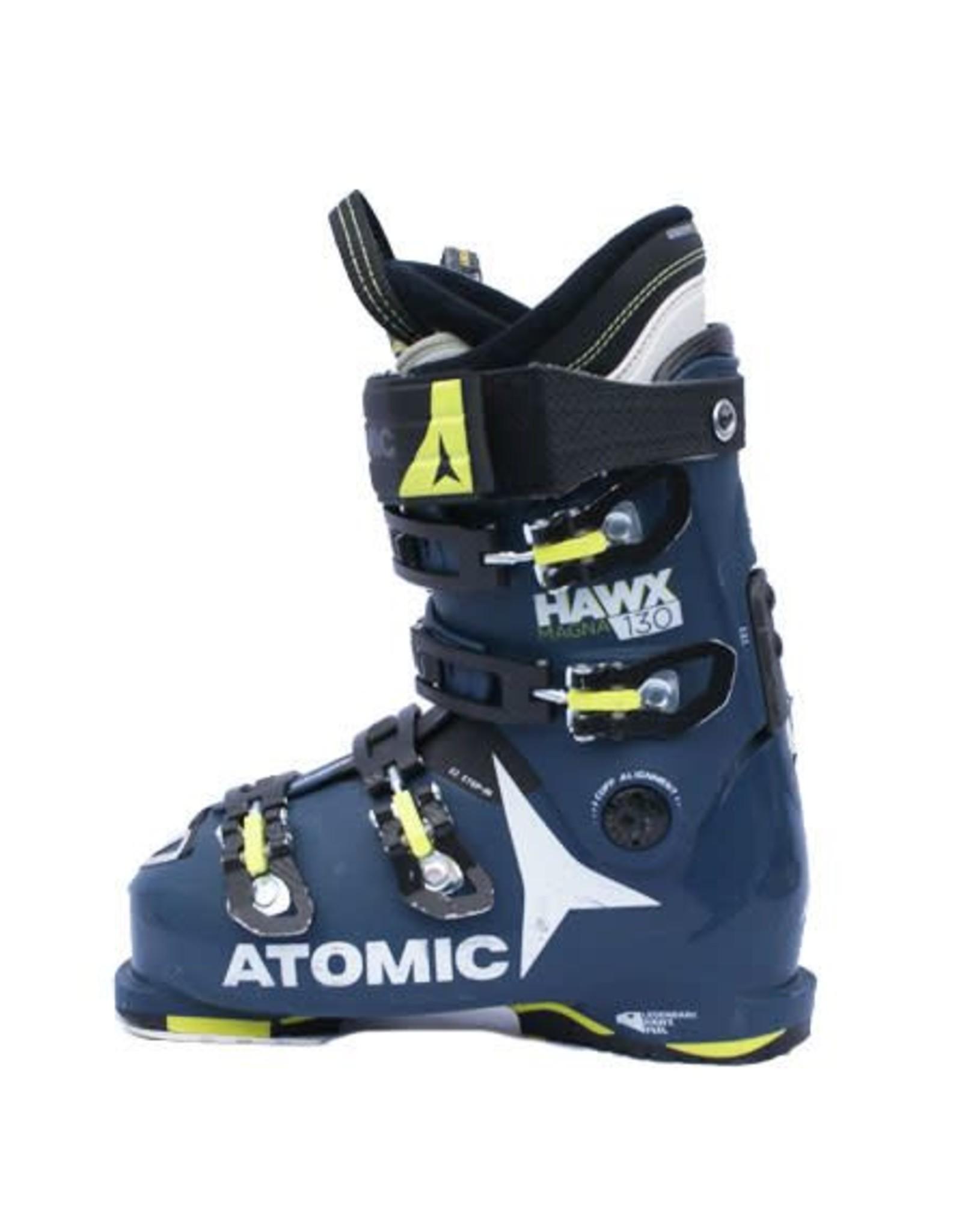 ATOMIC Skischoenen ATOMIC Hawx Magna 130 D.Bl/Geel/Wit Gebruikt