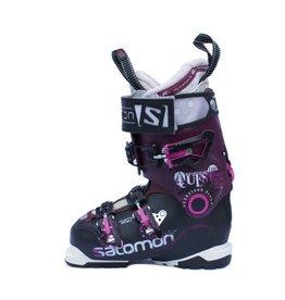 SALOMON Quest pro 100w Paars/Zw/Roze Skischoenen Gebruikt mt 34 (mondo 22)