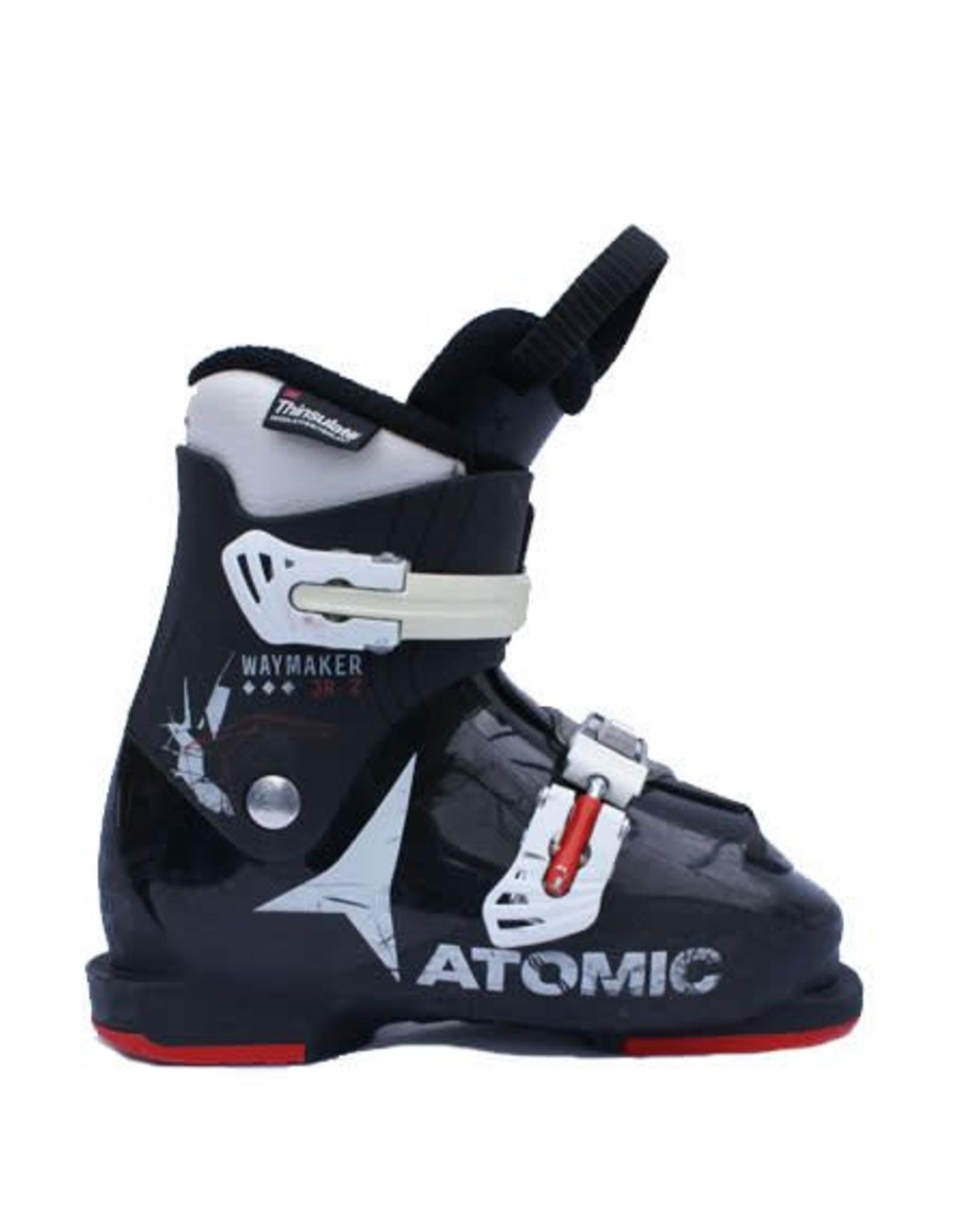 ATOMIC Skischoenen Atomic Waymaker JR 2 Zw/Wit/Rood Gebruikt