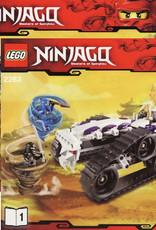 LEGO LEGO 2263 Turbo Shredder NINJAGO