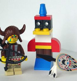 LEGO 2845 Indian Chief + totem SYSTEM