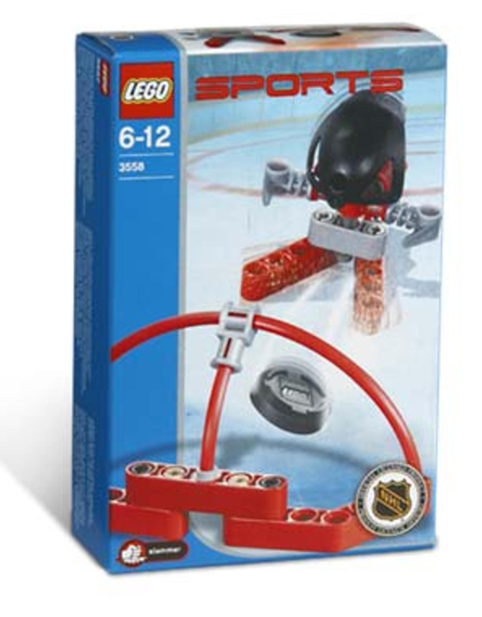 LEGO LEGO 3558 Ijshocker rood SPORTS