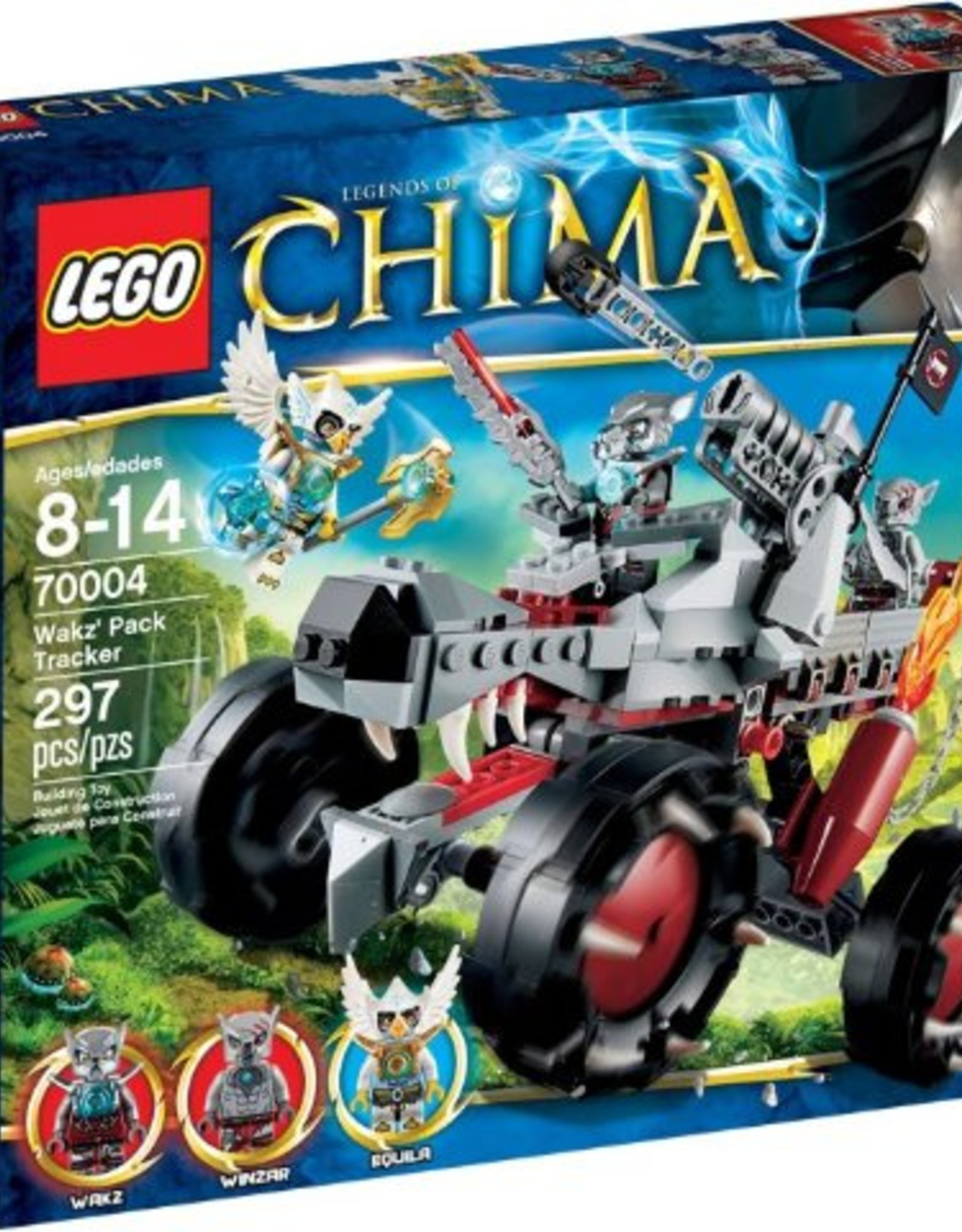 LEGO LEGO 70004 Wakz's Packtracker CHIMA