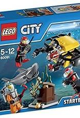 LEGO LEGO 60091 Deep Sea starter set CITY