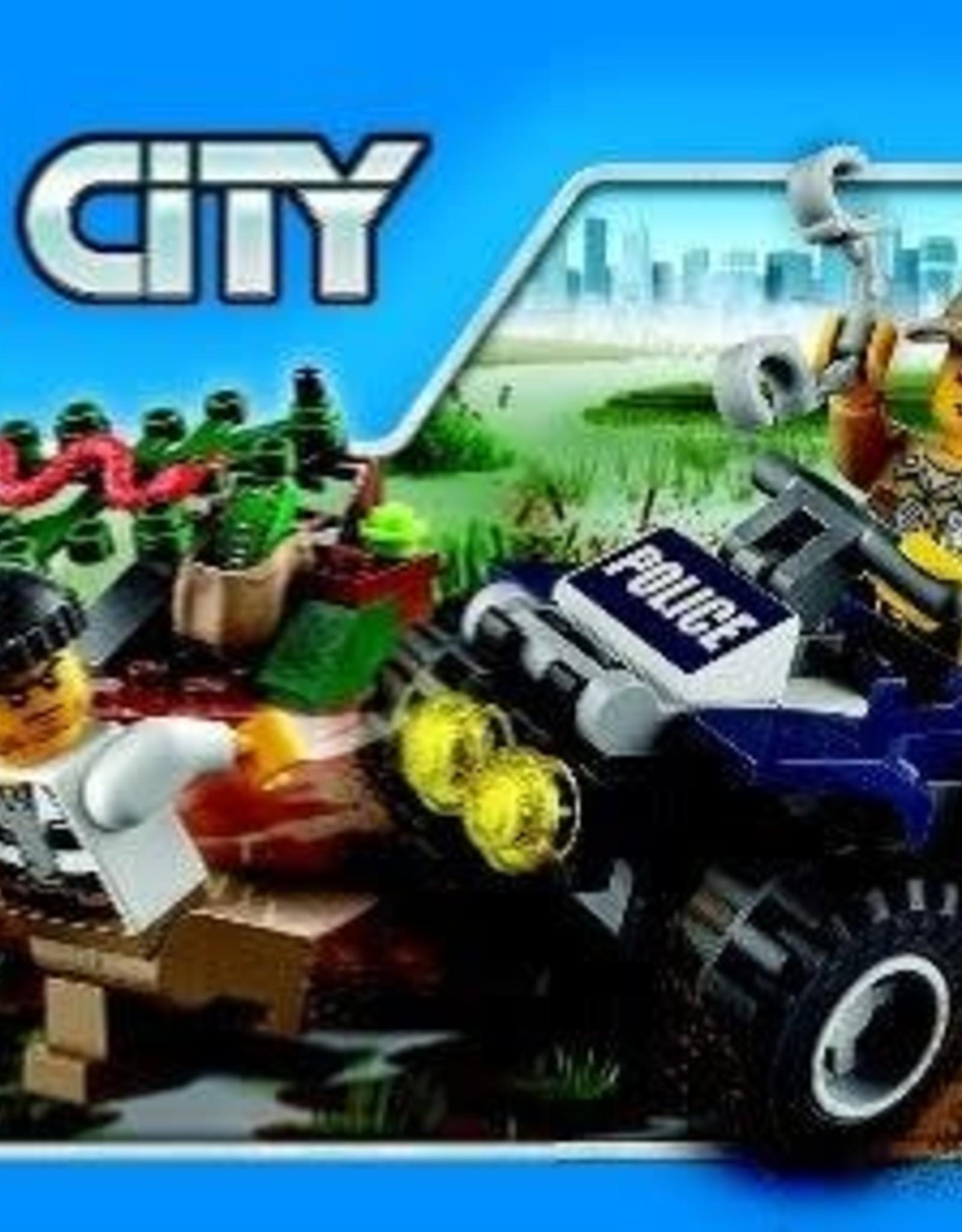 LEGO LEGO 60065 ATV Patrouillevoertuig politie CITY