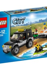 LEGO LEGO 60058 SUV met 2 waterscooters CITY