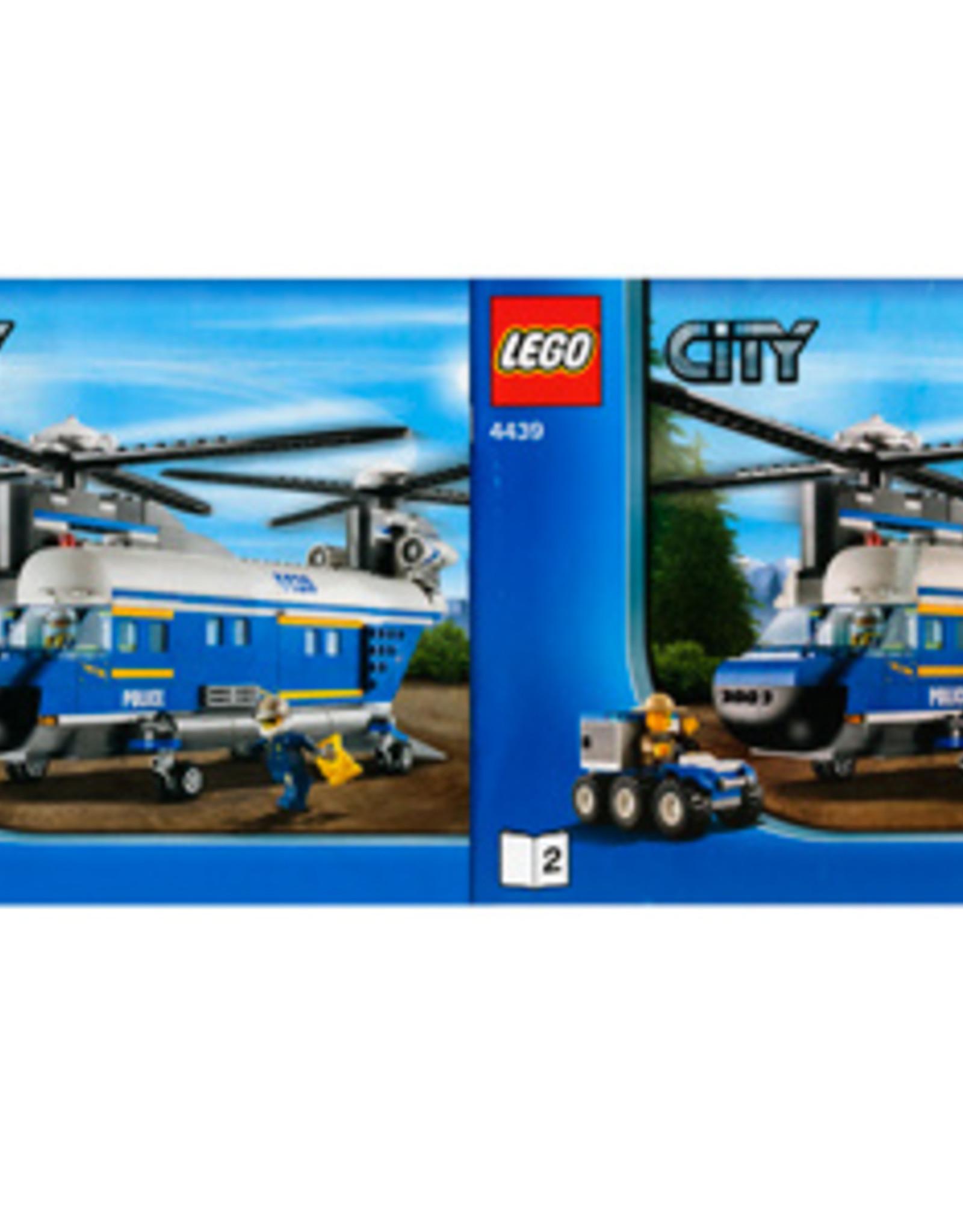 LEGO LEGO 4439 Politie Vrachthelicopter XL CITY