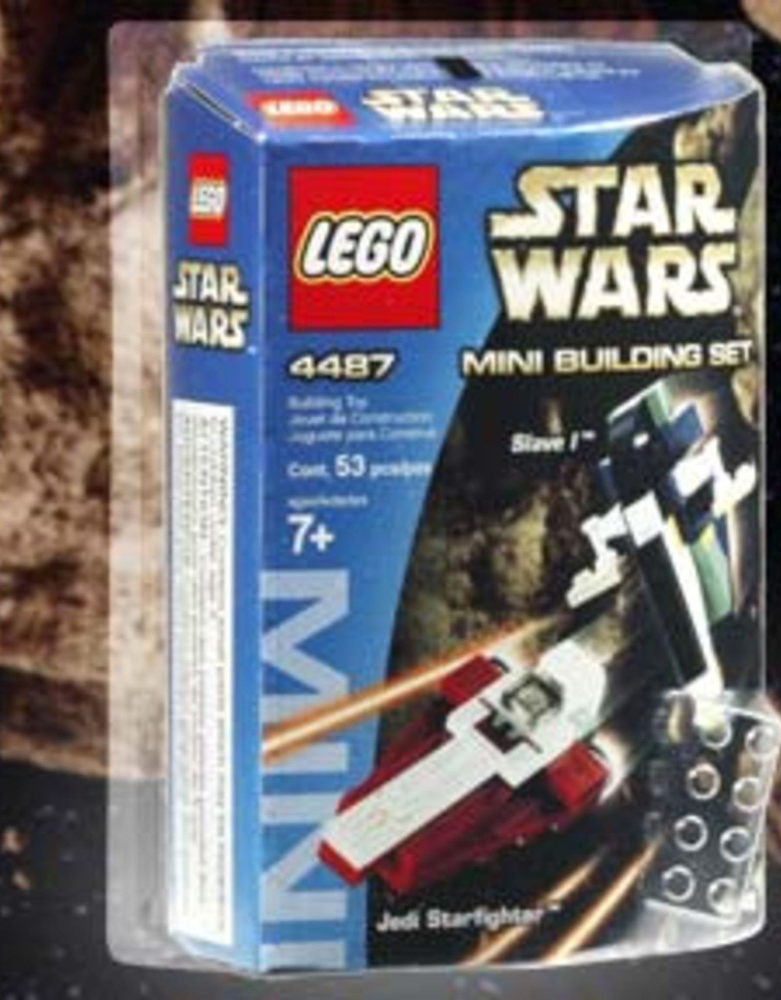 LEGO LEGO 4487 Jedi Startfighter and Slave I STAR WARS