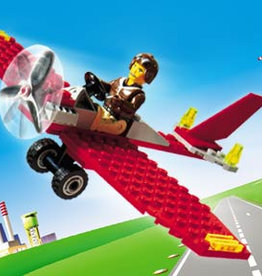 LEGO 4615 Red Recon Flyer JACK STONE