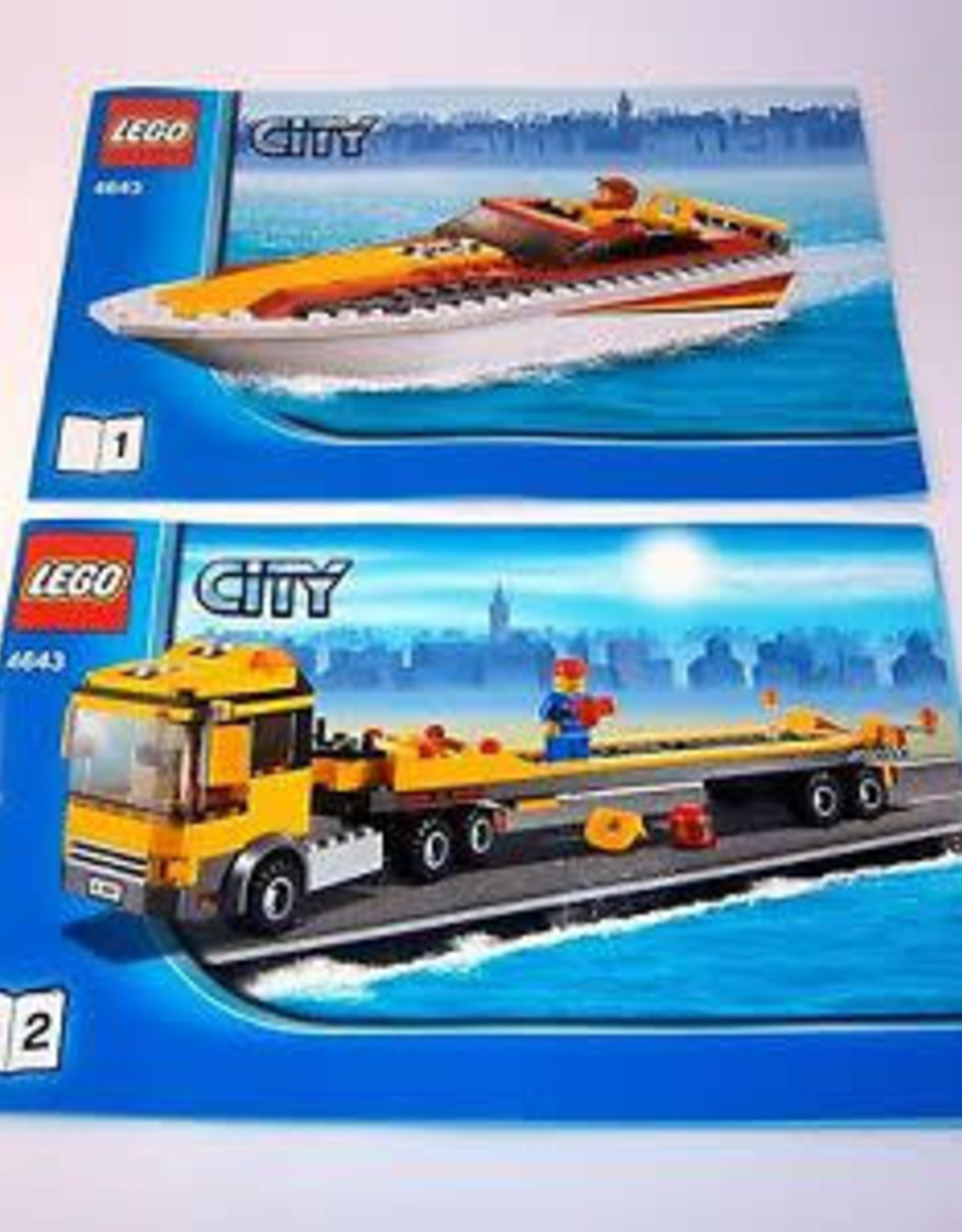 LEGO LEGO 4643 Power Boat Transporter CITY