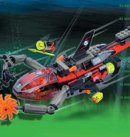 LEGO 4793 Ogel Sub Shark ALPHA TEAM
