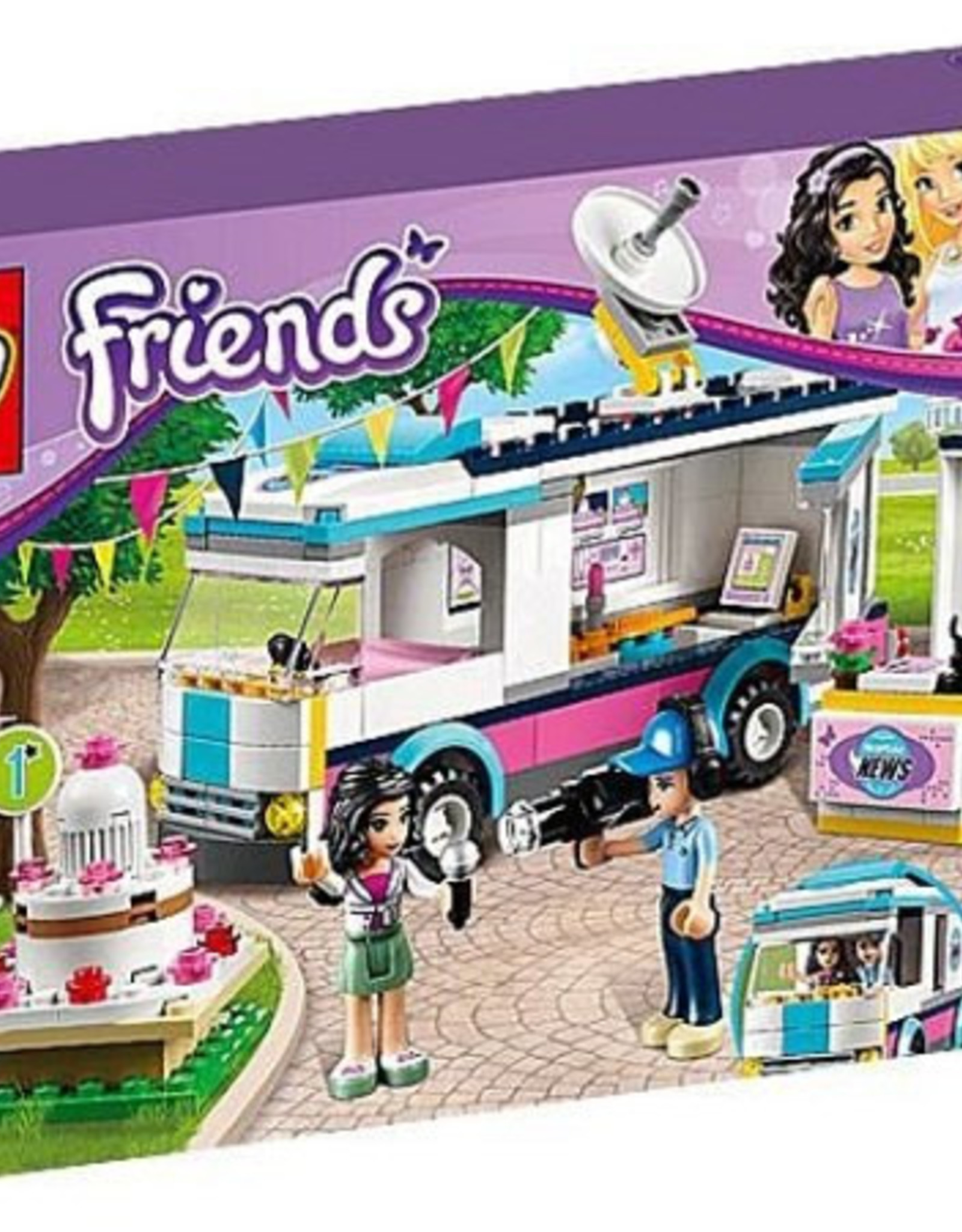 LEGO LEGO 41056 Heartlake News Van FRIENDS