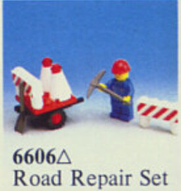 LEGO 6606 Road Repair Set LEGOLAND
