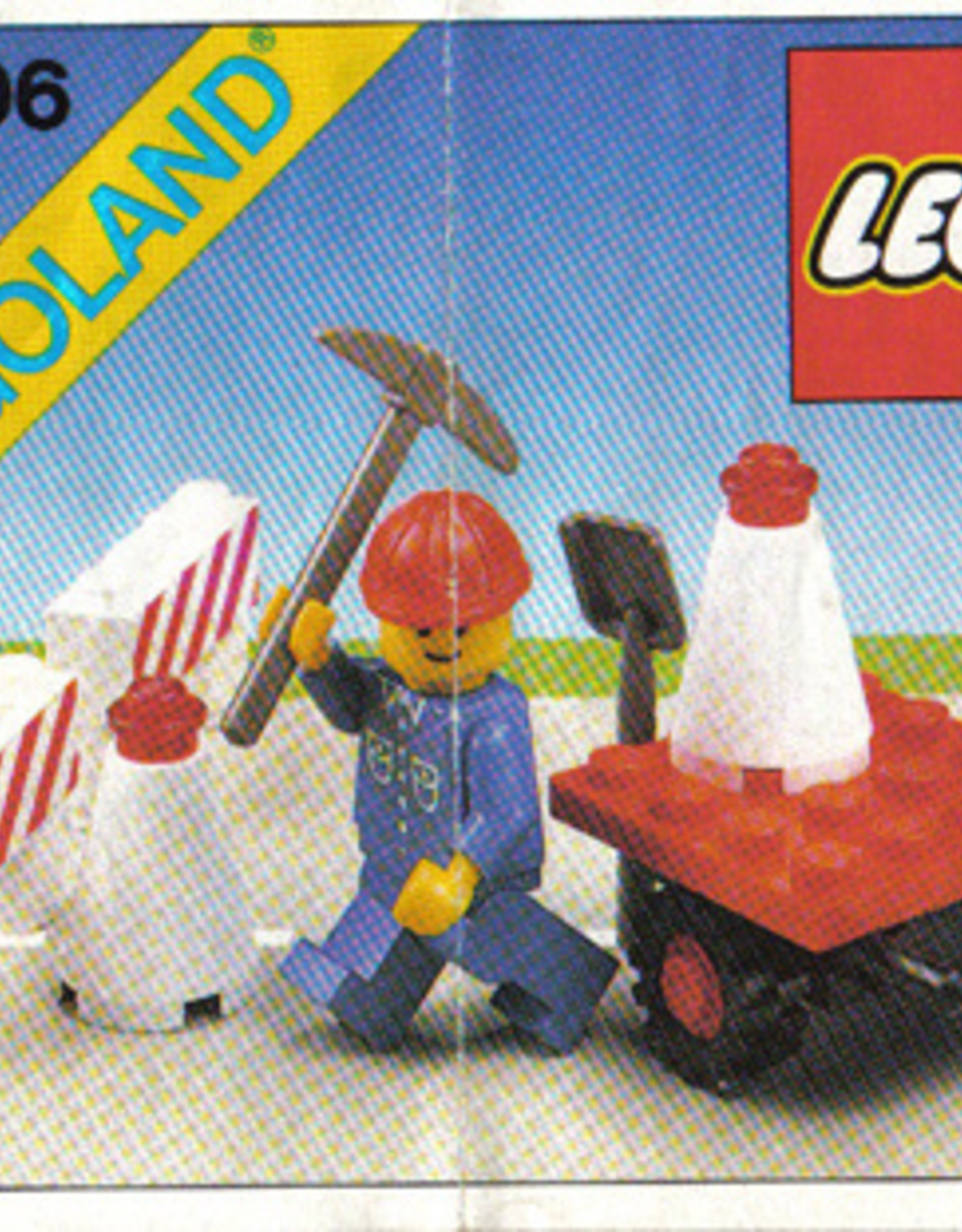 LEGO LEGO 6606 Road Repair Set LEGOLAND