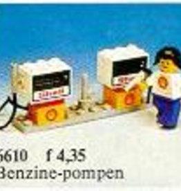 LEGO 6610 Gas Pumps LEGOLAND