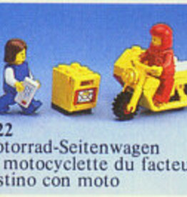 LEGO 6622 Mailman on motorcycle LEGOLAND