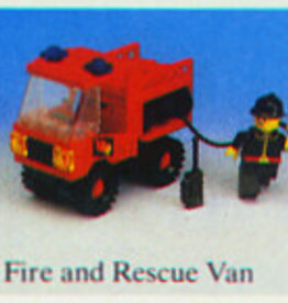 LEGO 6650 Fire and Rescue Van LEGOLAND