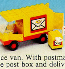 LEGO 6651 Post Office Van LEGOLAND