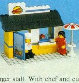 LEGO 6683 Hamburger kraam LEGOLAND