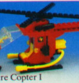 LEGO 6685 Fire Copter 1 LEGOLAND