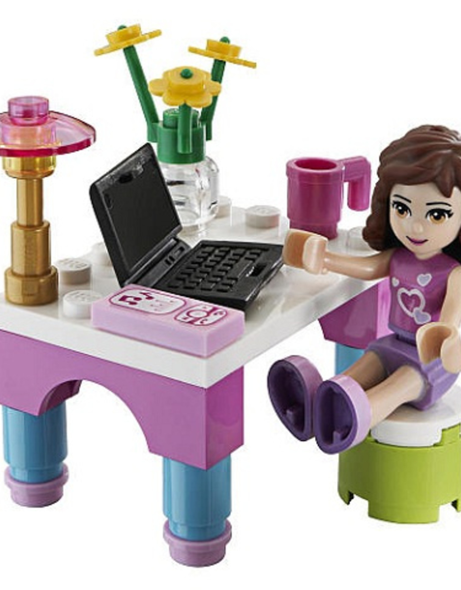 LEGO LEGO 30102 Olivia's Desk FRIENDS