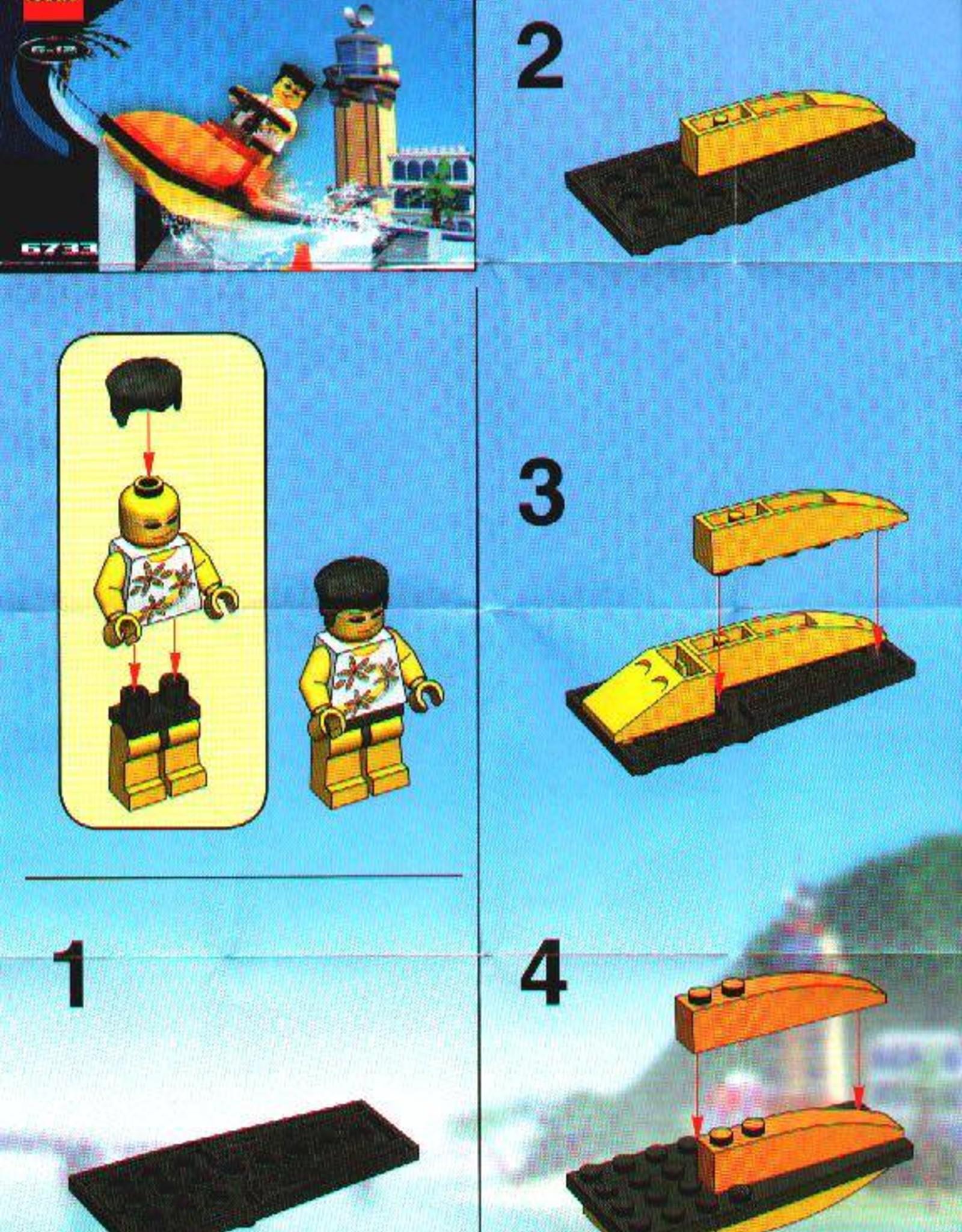 LEGO LEGO 6733 Snap's Cruiser ISLAND XTREME STUNTS